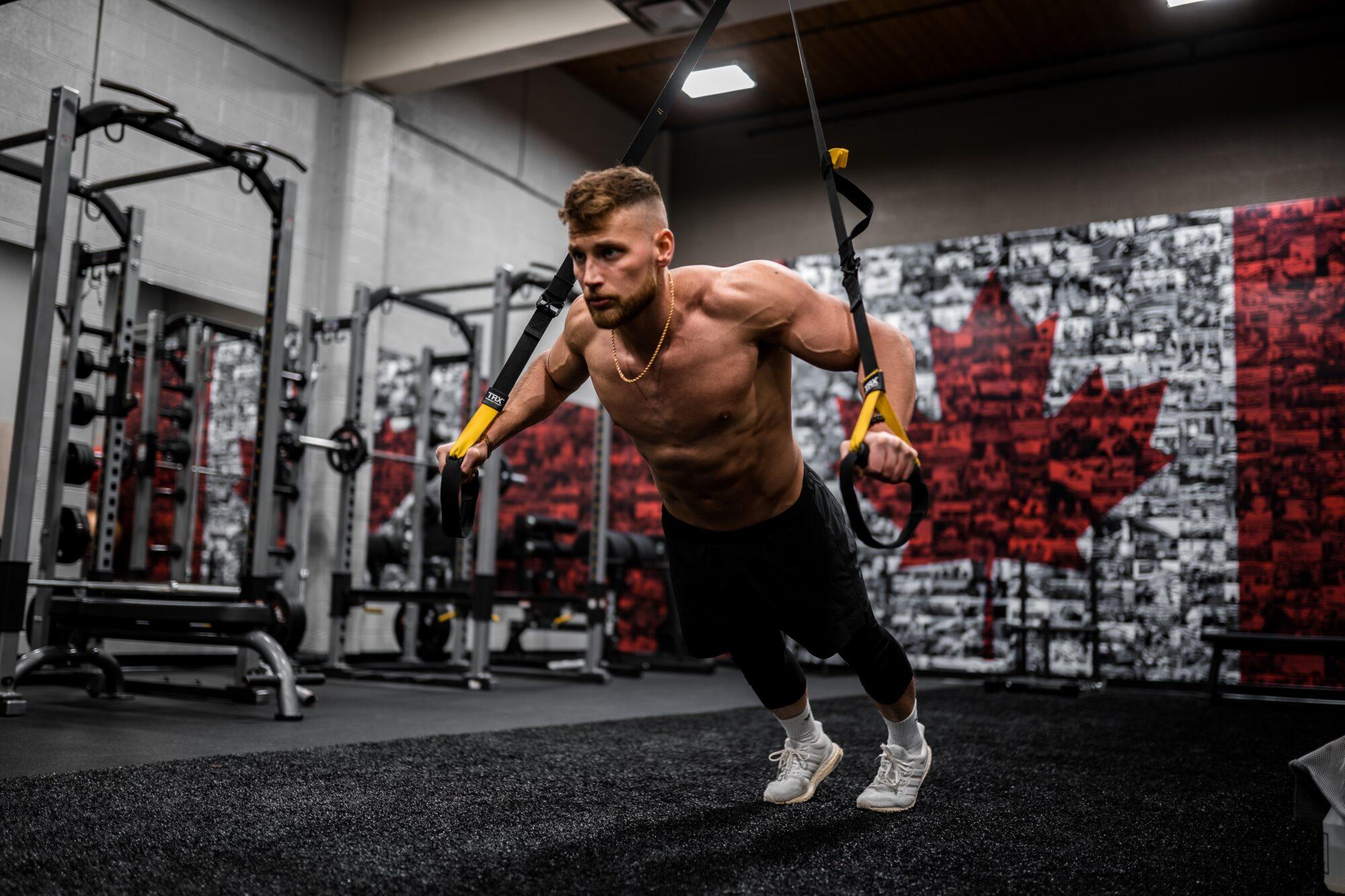 TRX træning – den nye form for hjemmetræning