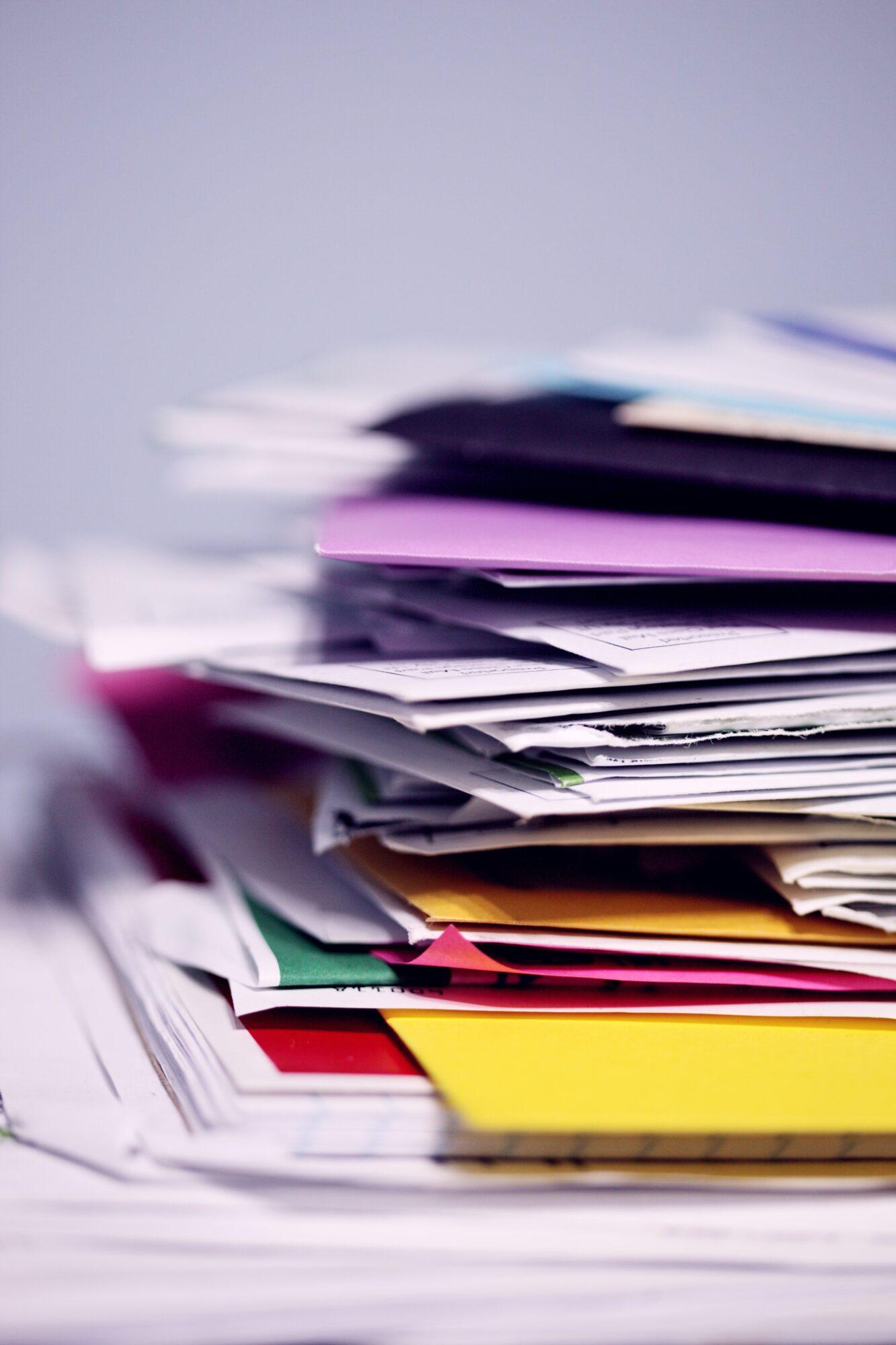 Få struktur i dine papirer med en arkivkasse